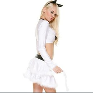 Sexy Forplay cat costume nwt
